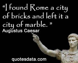 Augustus Caesar Quotes Augustus Caesar