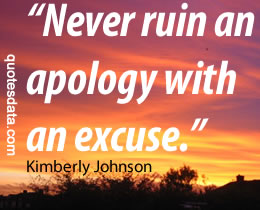 excuse images and quotes