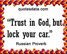 Of Russian Proverbs 31